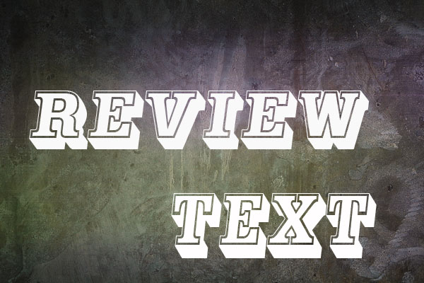 Contoh riview text