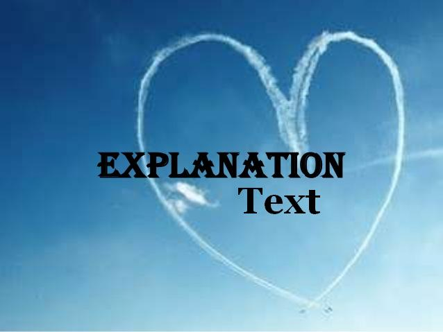 Contoh explanation text