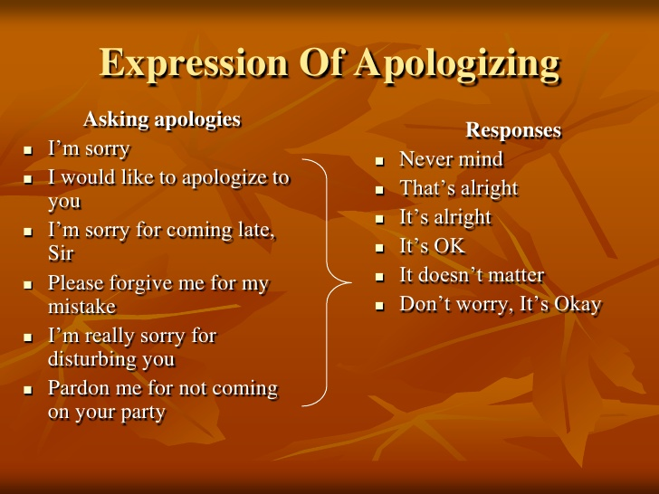 Contoh Dialog Expressing Apology
