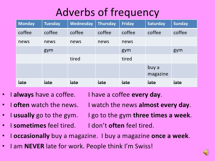 Pengertian dan Contoh Adverb of Frequency