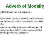 Pengertian dan Contoh Kalimat Adverb of Modality Bahasa Inggris