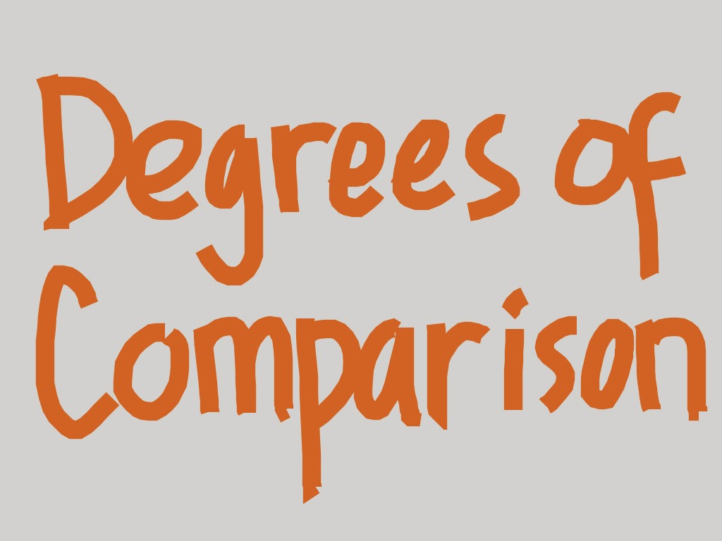 Pengertian dan Contoh Degree of Comparison