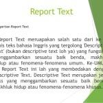 Pengertian, Struktur dan Contoh Report Text Bahasa Inggris