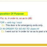 Pengertian dan 18 Contoh Kalimat Preposition of Purpose