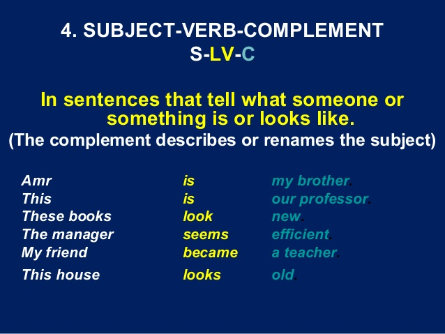 Pengertian dan 10 Contoh Kalimat Subject-Verb Complement